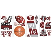 RoomMates® Texas A and M University® Peel and Stick Wall Decal, 10 x 18