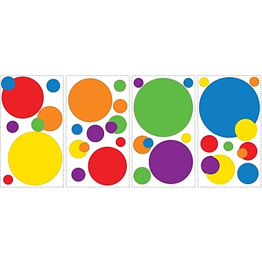 RoomMates® Just Dots Primary Colors Peel and Stick Wall Decal, 10