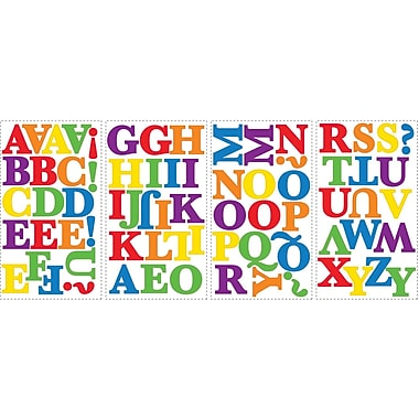 RoomMates® Express Yourself Colorful Alphabet Peel and Stick Wall Decal, 10