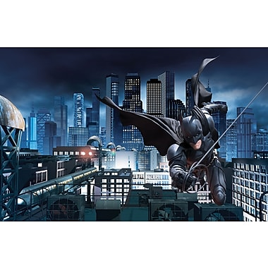 RoomMates® The Dark Knight Rises™ Chair Rail Prepasted Wall Mural, 6 ft H x 10 1/2 ft W