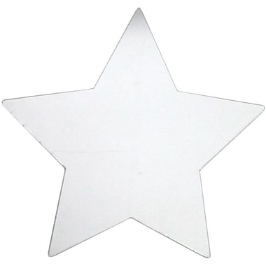 RoomMates® Star Shape Peel and Stick Wall Mirror, Large, 11in. H x 11in. W