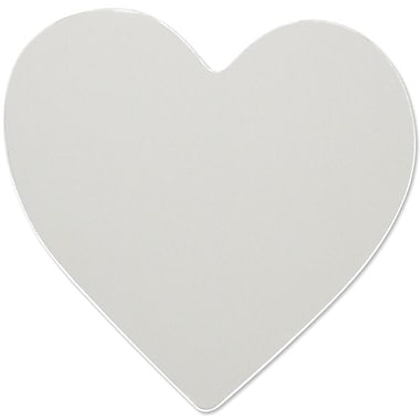 RoomMates® Heart Shape Peel and Stick Wall Mirror, Large, 10 1/2in. H x 11 1/4in. W