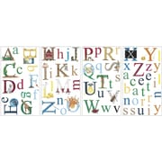 "RoomMates® Alphabet Peel and Stick Wall Decal, 10"" x 18"""