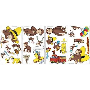RoomMates® Curious George Peel and Stick Wall Decal, 10in. x 18in.