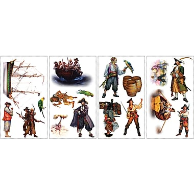 RoomMates® Pirates Peel and Stick Wall Decal, 10in. x 18in.