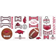 "RoomMates® University of Arkansas® Peel and Stick Wall Decal, 10"" x 18"""