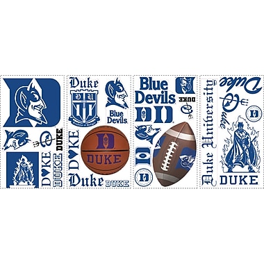 RoomMates® Duke University® Peel and Stick Wall Decal, 10in. x 18in.