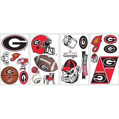 RoomMates® University of Georgia® Peel and Stick Wall Decal, 10