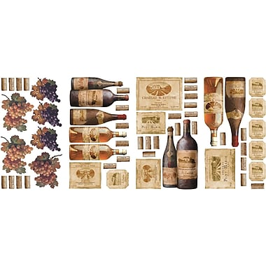 RoomMates® Wine Tasting Peel and Stick Wall Decal, 10in. x 18in.