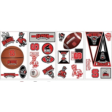 RoomMates® North Carolina State University® Peel and Stick Wall Decal, 10in. x 18in.