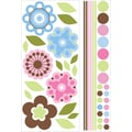 RoomMates® Growing Flowers Peel and Stick Giant Wall Decal, 40in. x 18in., 40in. x 9in.