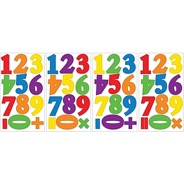 RoomMates® Colorful Primary Numbers Peel and Stick Wall Decal, 10