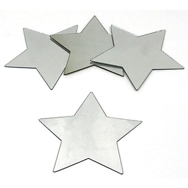 RoomMates® Star Shape Peel and Stick Wall Mirror, Small, 5 1/2in. H x 5 1/2in. W