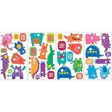 RoomMates® Monsters Peel and Stick Wall Decal, 10