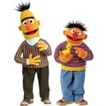 RoomMates® Bert and Ernie Peel and Stick Giant Wall Decal, 18in. x 40in., 9in. x 40in.
