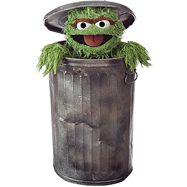 RoomMates® Oscar The Grouch Peel and Stick Giant Wall Decal, 18