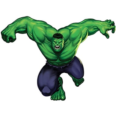 RoomMates® The Incredible Hulk Peel and Stick Giant Wall Decal, 18in. x 40in., 9in. x 40in.