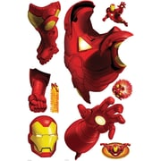 RoomMates® Iron Man Peel and Stick Giant Wall Decal, 18 x 40, 9 x 40