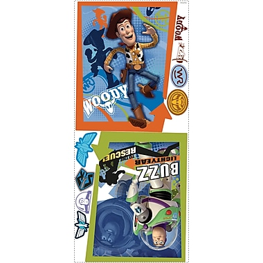 RoomMates® Buzz and Woody Peel and Stick Giant Wall Decal, 18in. x 40in.