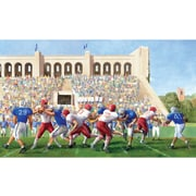 RoomMates® Football Stadium Chair Rail Prepasted Wall Mural, 6 ft H x 10 1/2 ft W