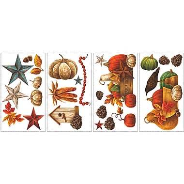 RoomMates® Bountiful Harvest Peel and Stick Wall Decal, 10in. H x 18in. W