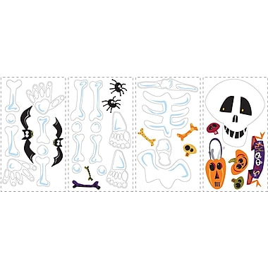RoomMates® Build A Skeleton Peel and Stick Wall Decal, 10in. H x 18in. W