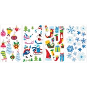RoomMates® Let It Snow Peel and Stick Wall Decal, 10 H x 18 W