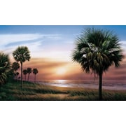 RoomMates® Palm Tree Chair Rail Prepasted Wall Mural, 6 ft H x 10 1/2 ft W