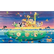 RoomMates® Noah's Submarine Chair Rail Prepasted Wall Mural, 6 ft H x 10 1/2 ft W
