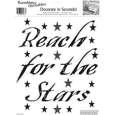 RoomMates® Reach for the Stars Quote Peel and Stick Wall Decal, 10