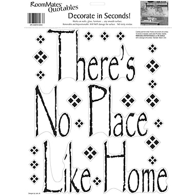 RoomMates® There's No Place Like Home Quote Peel and Stick Wall Decal, 10in. x 13in.