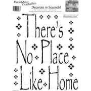 RoomMates® There's No Place Like Home Quote Peel and Stick Wall Decal, 10 x 13