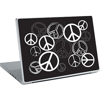 RoomMates® Peace Signs Peel and Stick Laptop Wear, 10 2/7in. H x 14 1/4in. W