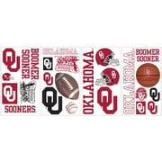RoomMates® University of Oklahoma® Peel and Stick Wall Decal, 10 x 18