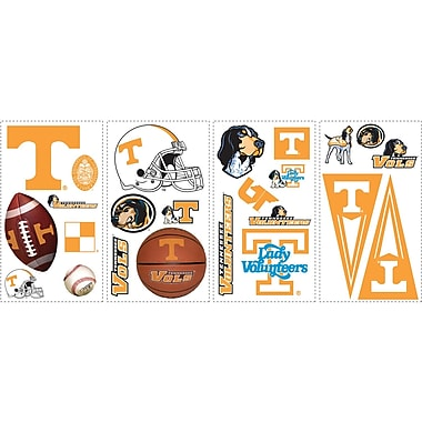 RoomMates® University of Tennessee® Peel and Stick Wall Decal, 10