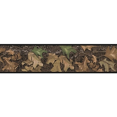 RoomMates® Mossy Oak Camo Peel and Stick Border, Multi-color, 5in. H x 180in.