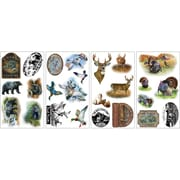 RoomMates® Wildlife Medley Peel and Stick Wall Decal, 10 x 18