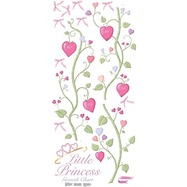 RoomMates® Little Princess Peel and Stick Growth Chart, 18in. x 40in.