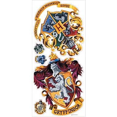 RoomMates® Hogwarts Crest Peel and Stick Giant Wall Decal, 18in. x 40in.