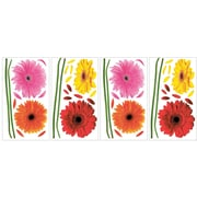 "RoomMates® Small Gerber Daisies Peel and Stick Wall Decal, 10"" x 18"""
