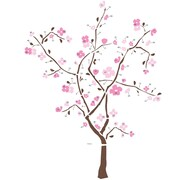 "RoomMates® Spring Blossom Tree Peel and Stick Giant Wall Decal, 18"" x 40"""