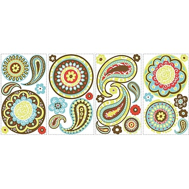 RoomMates® Paisley Peel and Stick Wall Decal, 10in. x 18in.