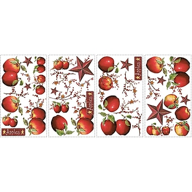 RoomMates® Country Apples Peel and Stick Wall Decal, 10in. x 18in.