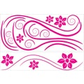 RoomMates® Deco Swirl Peel and Stick Wall Decal, 40in. x 18in., 40in. x 9in.