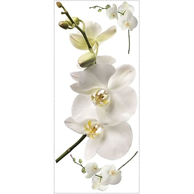 RoomMates® White Orchid Peel and Stick Giant Wall Decal, 18in. x 40in.