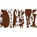 RoomMates® Brown Animal Silhouettes Peel and Stick MegaPack Wall Decal, 27in. x 40in.