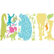 RoomMates® Colorful Animal Silhouettes Peel and Stick MegaPack Wall Decal, 27 x 40