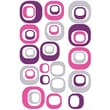 RoomMates® Modern Ovals Peel and Stick Wall Decal, 18in. x 40in., 9in. x 40in.