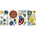 RoomMates® West Virginia University® Peel and Stick Wall Decal, 10in. x 18in.