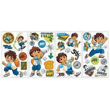 RoomMates® Go Diego Go! Peel and Stick Wall Decal, 10in. x 18in.